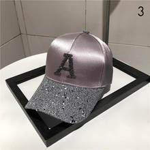 Буквы с сверлом хип-хоп бейсболка s женский рюкзак женский хлопок Регулируемая крышка папа шляпа вышивка Лето кость BQM-CZX62(Китай)