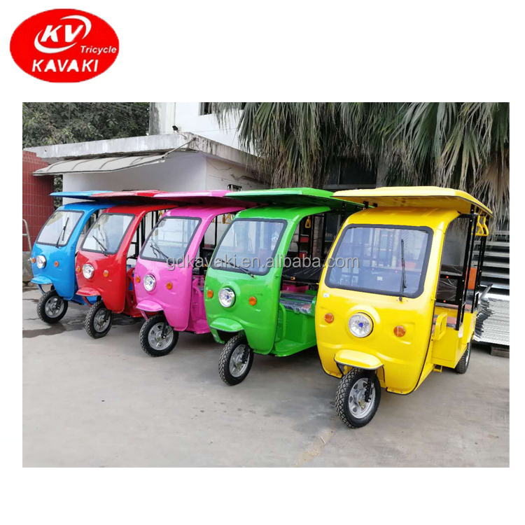 New Model Bajaj Electric Three Wheeler Passenger Tricycle Scooter For Passenger