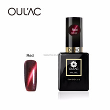 2017 Oulac Hot Selling Best price 6 colors nail gel polish,Factory price soak off gel polish