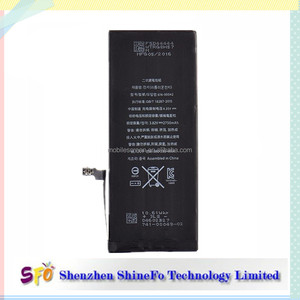 100% Original 2750mAh Capacity Mobile Phone Battery For iPhone 6S Plus Replacement Phone Battery