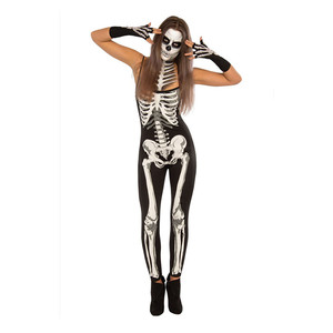 2018 Cosplay Boness Jumpsuit Halloween Costume