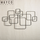 Mayco Wholesale Modern Abstract Metal Home Goods Wall Art For Living Room