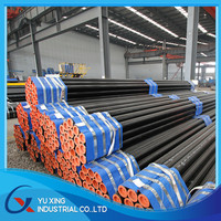 black round ERW oiled steel pipe with best price