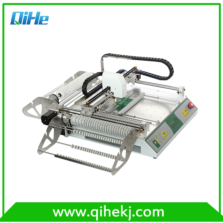double cameras pick and place machine IC Electronic Component Automated Pick and Place Machine