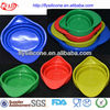 Eco-friendly Folding Silicone Flexible Measuring Jug Set Of 4 Size Different Color