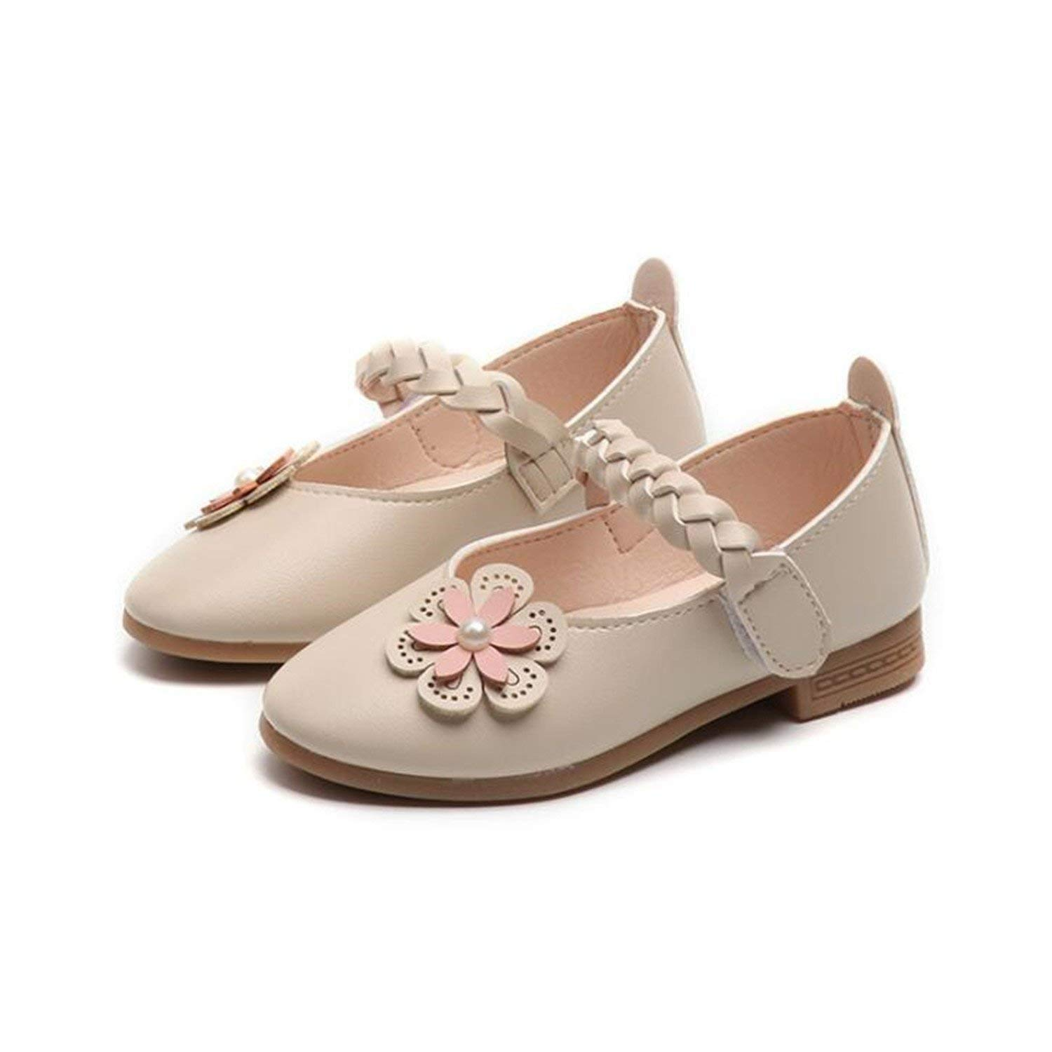 afe7c74a08715 Get Quotations · Perfues Children Soft Leather Shoes Kids Flats for Girls Shoes  2018 New Cute Girl Fashion Shoes