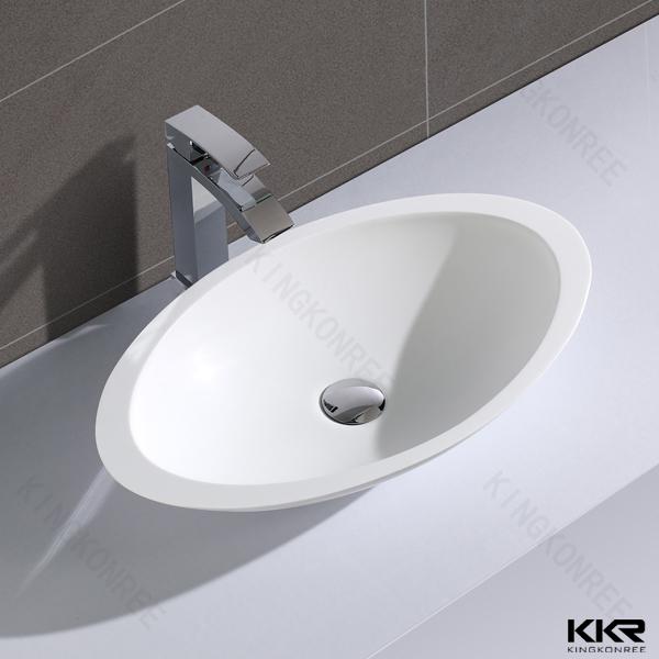 Customized design moderne pierre espagnol lavabo-Lavabo de salle ...