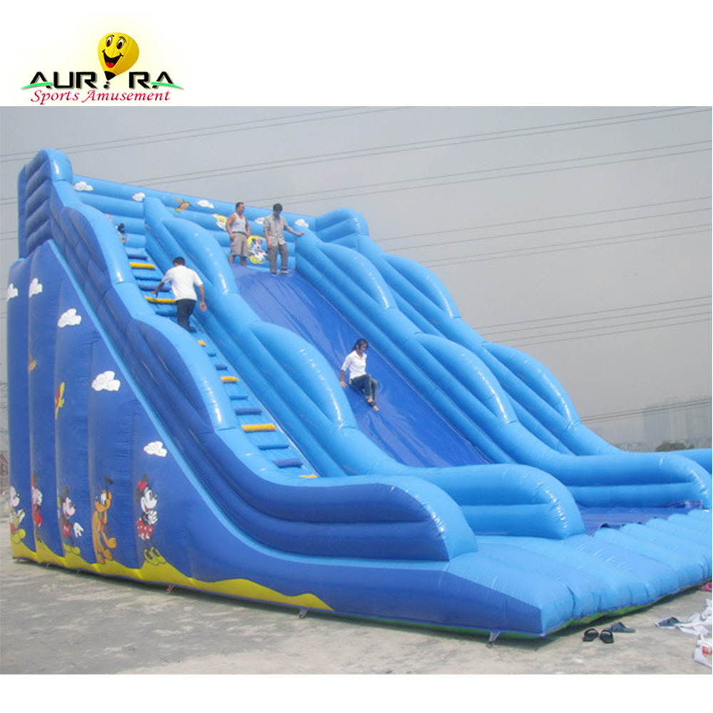 10x8x6.5m Manufacturer Commercial bouncy slide inflatable large slides for kids blow up bounce slide out door фото