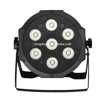 cheap Compact Par 7 Tri 3in1 RGB LED slim par light dj light