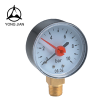 PRESSURE GAUGE ,Double pointer AIR GAUGE plastic case,