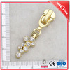 No.5,7,8 metal slider zinc alloy zipper head for brass zipper fancy slider for bag