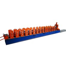 customize quality flow elbow rack upright roll forming machine