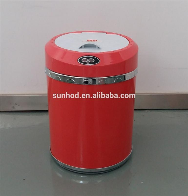Hot selling sensor waste bins kitchen made in China
