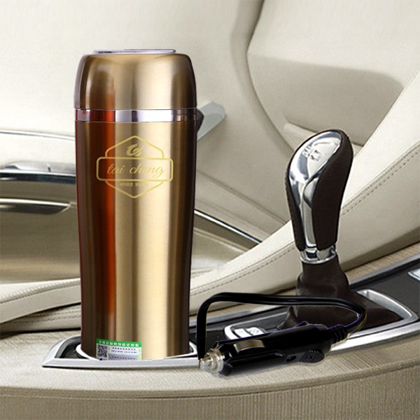 OEM mevcut DC12V araba kupa kaynar flask/oto elektrik/araç elektroniği/12 V araba SU ISITICI/elektrikli kahve kupa ısıtıcı
