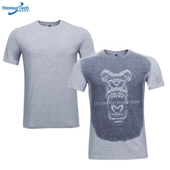 3cddf33d69 New Designs Men and Women Sports Running Cotton Change Color Custom Logo Sweat  Activated T Shirt