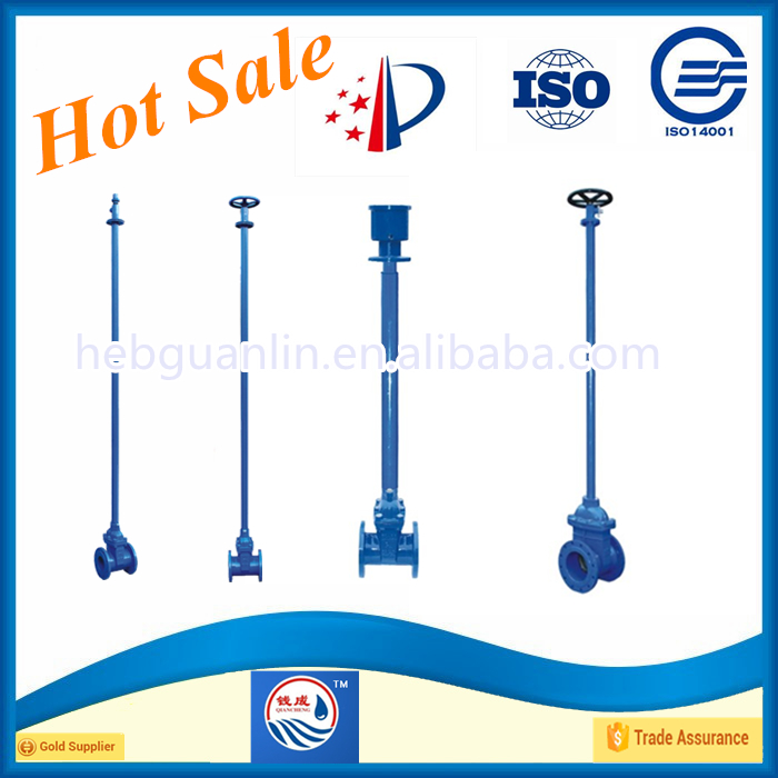 Direct Buried PN16 Rubber Seated Cast Iron Gate Valve China Supplier Alibaba.com