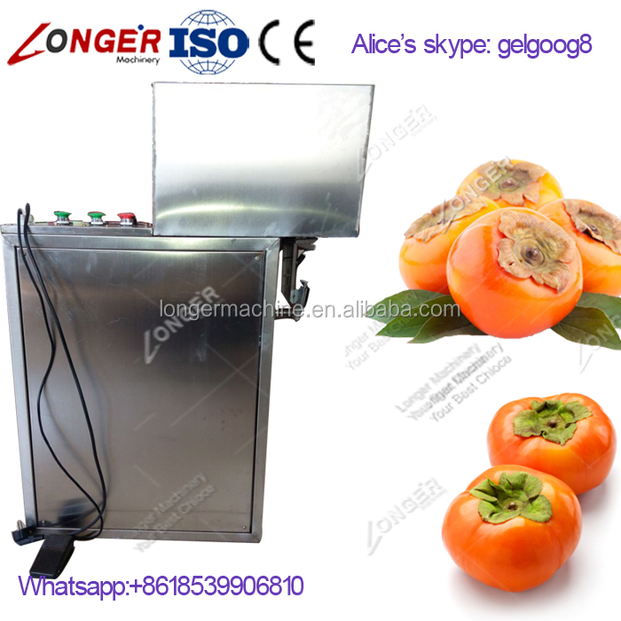Industrial Automatic Apple Pear Peach Skin Removing Machine Persimmon Peeling Machine