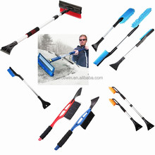 Two In One Auto Vehicle Car Truck Snow Removal Brush Telescoping Car Snow Brushes with Ice Scraper