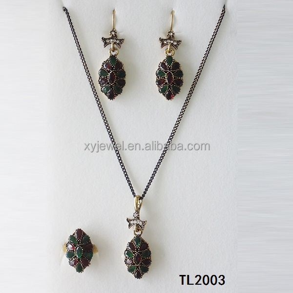 Turkish Gold Jewelry Set Turkish Gold Jewelry Set Suppliers and