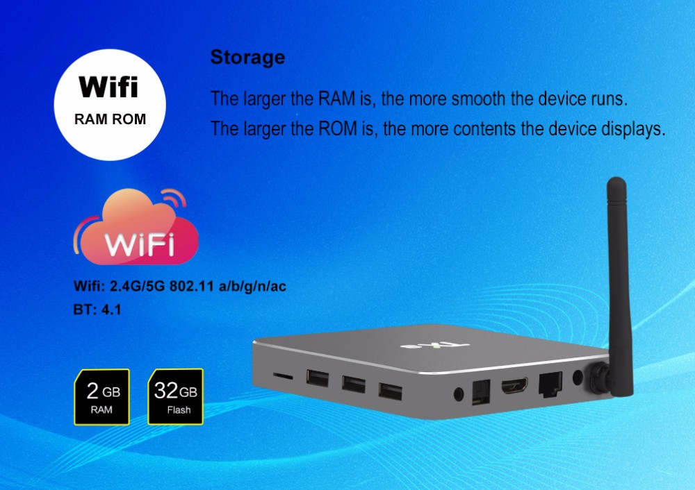 2017 Hot Sale Gift Home Audio Amlogic S912x Android 6.0 Tx8 Tv Box ...
