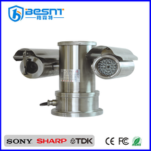 nano-technology processing 360 degree rotation SONY 18X Zoom Explosion proof infrared ptz cctv camera (BS-FB02A)