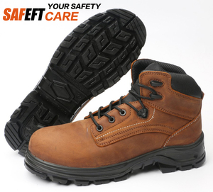 e18ac865962 Men fashion Chemical resistant mining waterproof PU safety shoes boots oil