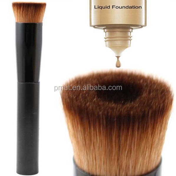 Korea style synthetic brown hair liquid cream use new popular makeup brush