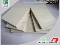 1220*2440 mm fireproof vermiculite board fireproof decorative mgo board