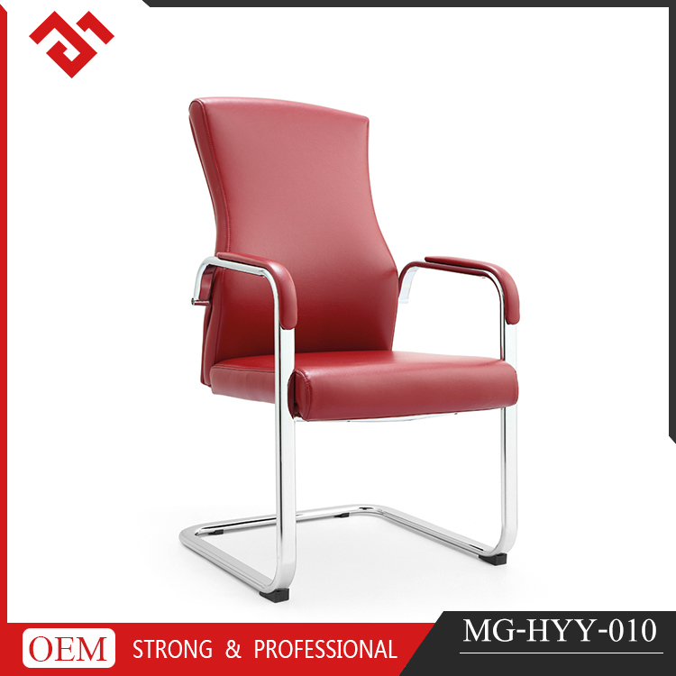 modern italian leather executive office waiting chair
