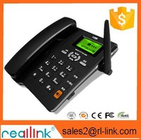 GSM PSTN desktop phone fixed wireless phone with 4 wireless handsets FWP