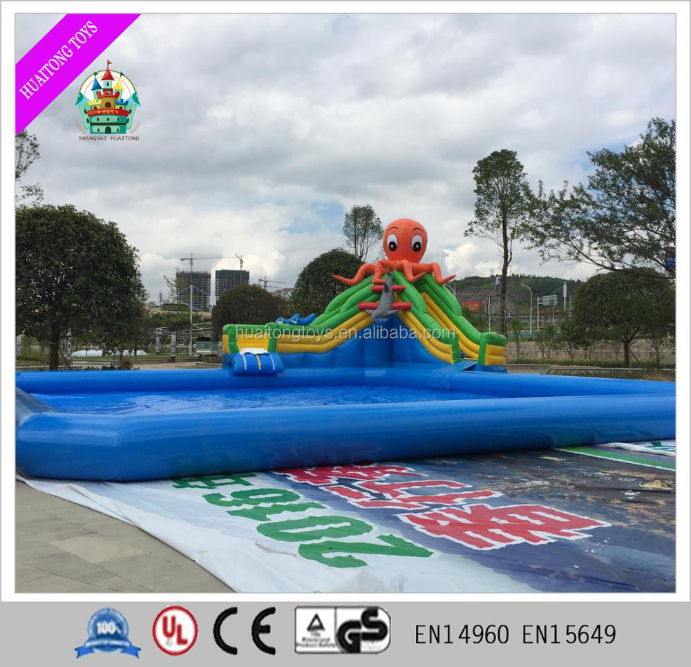 octopus inflatable water slide pool octopus inflatable water
