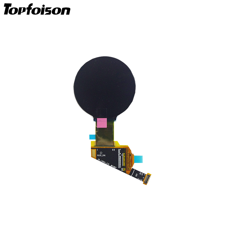1.39inch round oled display 400*400 resolution with Driver IC RM67160