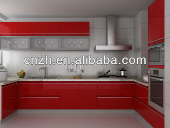 Uv Painted Kitchen Cabinet Door Mdf Board Conforming To E1 E2