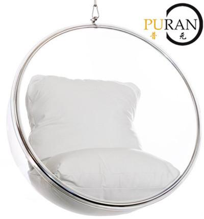espace bubble chaise chaise de boule transparente eero aarnio fauteuil suspendu minimaliste dans. Black Bedroom Furniture Sets. Home Design Ideas
