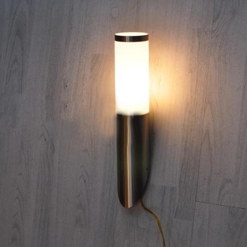 Wall Sconces Restaurant Art Deco Wall Lighting Modern Corridor Stainless Steel Pipe Lamp Pineapple Light Lustre Abajur E27 220V