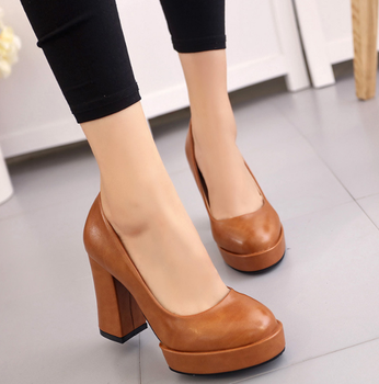 78e588df7c78 2017 new Korean high heels ladies shoes for work