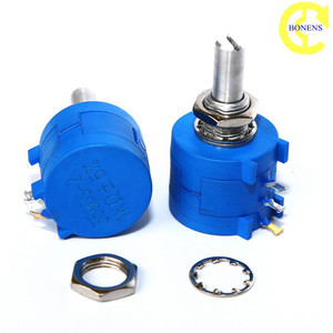 Wxd3590S2 10 turns wirewound potentiometer