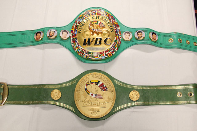 WBC BOXING BELT