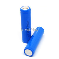 Rechargeable 3.7V 2200mAh li-ion 8.14wh 18650 battery cell