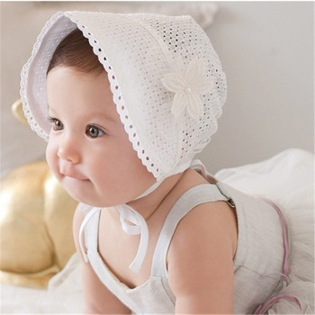 Wholesale Wholesale Baby Summer Soft Hat Baby Girls Princess Sun ... ac3d5916ebc