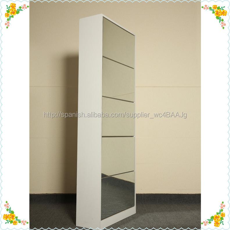 Madera ikea zapatero espejo estante ikea identificaci n del producto 300008083482 spanish - Scarpiera specchio ikea ...