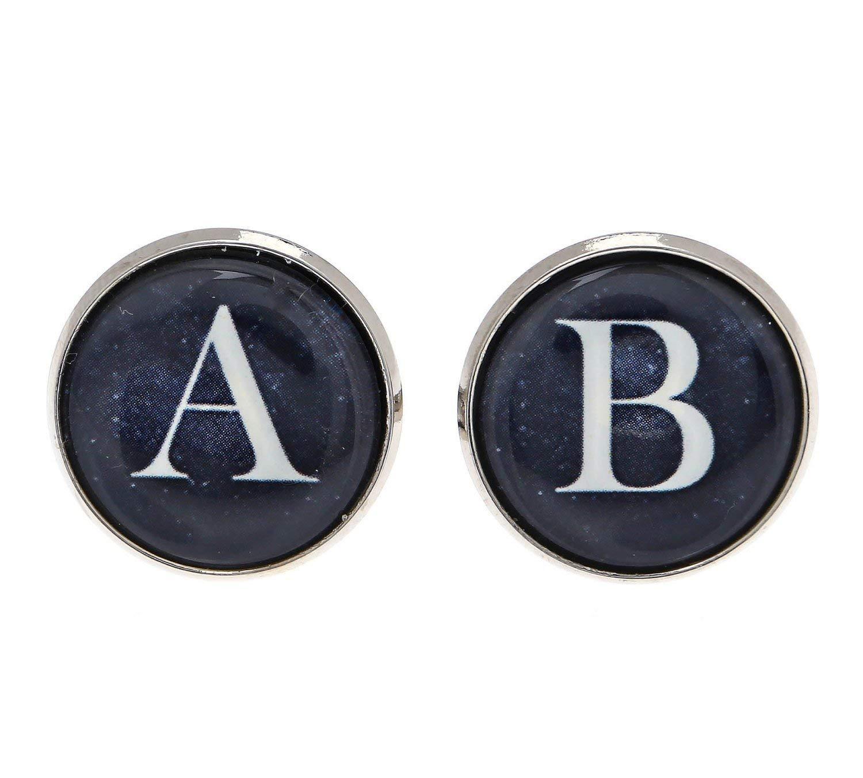 Monogram Cufflinks - Personalized Cufflinks - Initial Cufflinks - Men's Cufflinks - Custom Cufflinks - Men's Accessories - Men's Jewelry - Cufflinks For Men - Wedding Accessories - Wedding Cufflinks