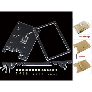 Clear Case for 5inch LCD Type B Combines Raspberry Pi LCD Display 5inch LCD(B) and Pi into an All-in-one device