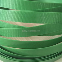 Green Color and Machine Packing Application Green PET Strap Scrap