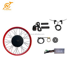 Fat tyre 26inch snow ebike hub motor wheel conversion kit 48v 1000w