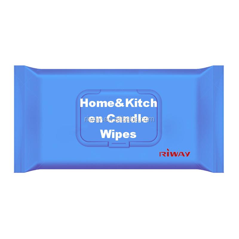 80pcs flow paket Küche feuchttücher gewebe für micro-welle ofen herd und tisch