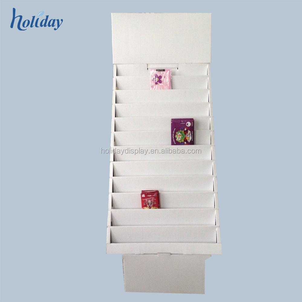 Cardboard card display stand 100 x white 100 tier collapsible cardboard card display stand cardboard greeting card display stand cardboard greeting card 68 m4hsunfo