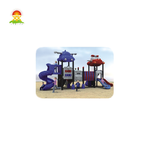 Top quality outdoor theme park playground equipment plastic slides for sale