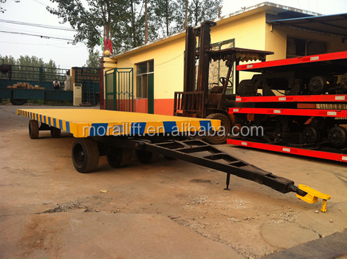 heavy duty yard trailer with no power