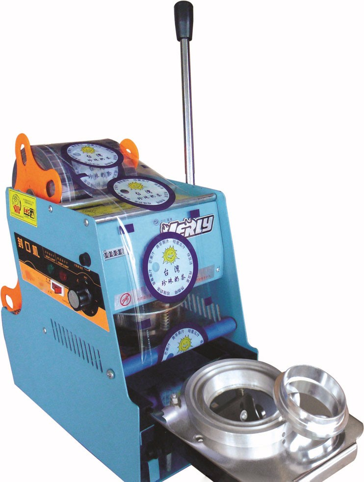 manual butter cheese / Popcorn plastic cup sealing machine